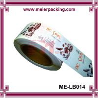Wholesale High Quality Logo Printed Self Adhesive Label,Custom Glossy Laminated Vinyl Sticker ME-LB014 from china suppliers