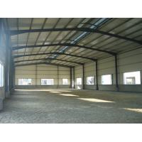 Wholesale Q345 Grade Frame Fabrication Steel Structure Warehouse Convenient Assembly from china suppliers