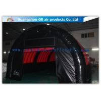 Quality Airtight Inflatable Air Tent Shelter for Outdoor Running Games 0.9mm PVC Tarpaulin for sale