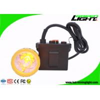 Wholesale 11.2Ah Rechargeable Safety Mining Cap Lights , Brightest 50000lux Hunting Lamp , Waterproof IP67 from china suppliers