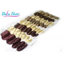 Wholesale Full Head Micro Ring Brazilian Human Hair Extensions Body Wave For Ladies / Girls from china suppliers