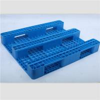 Wholesale Single-piece medium duty Euro plastic pallet with 3 skids from china suppliers