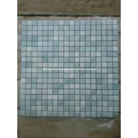 Wholesale Light Gray Green Marble Mosaic Tiles 1.5*1.5cm from china suppliers