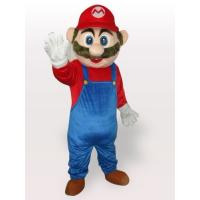 Wholesale adult attractive Super Marie professional character Mascot Costume of full body from china suppliers