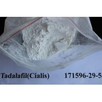 Wholesale No Side Effects Tadalafil / Cialis CAS 171596-29-5 Male Sex Powders High Purity from china suppliers