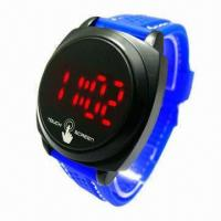 Wholesale Wrist Band Sport LED Watch, Touch Screen Fashionable Watch, 0 to 3ATM Water Resistant from china suppliers