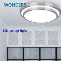 Wholesale New! LED ceiling lights D290mm,aluminum+Acryl AC220V Warm white/Cool white Led Lamp for home.balcony lights from china suppliers