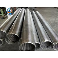 Wholesale Stainless Steel 304 Water Well Screen For Sand Control 1.0 Mm Slot Size from china suppliers