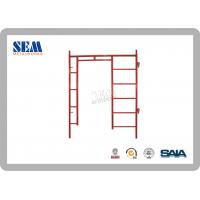 Wholesale American shoring scaffolding systems Powder Coated With Orange from china suppliers