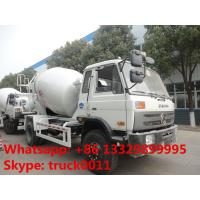 Wholesale Dongfeng 4*2 LHD Euro 3 Yuichai engine 6cbm cement mixer truck for sale, factory sale 4*2 mixer drum mounted on truck from china suppliers