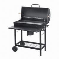 Wholesale Deluxe large size braai charcoal barbecue grill with table from china suppliers