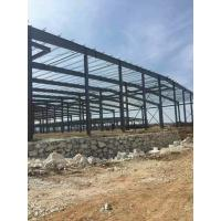 Wholesale Multi - Functional Heavy Frame Steel Structure Factory Hot Dip Galvanized Treatment from china suppliers