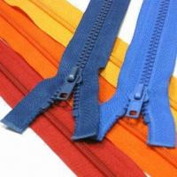 Quality No.5 Plastic Open End Zipper with D51 Slider for sale