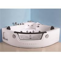 Wholesale Portable Mini Indoor Hot Tub Corner Air Jetted Bathtubs 7 Skirt Lights Thermostatic Heater from china suppliers