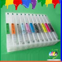 Wholesale large format ink cartridge for Epson Pro9908 Pro7908 refillable ink cartridge with chip from china suppliers