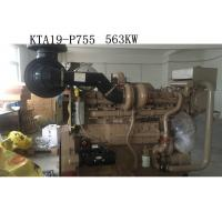 Wholesale KTA19- P755 CCEC Cummins Industrial Engines , Water Pump Diesel Engine Replacement from china suppliers