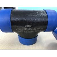 "Wholesale ASTM A860 WPHY 60 Butt Weld Fittings , Equal Tee  1"" SCH40 BW B16.9 from china suppliers"