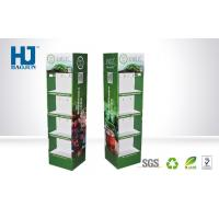 Wholesale Supermarket Cardboard Beverage Display Stand, Advertising Chinese Tea Cardboard Pallet Dis from china suppliers