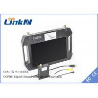 Wholesale H.264 Video Compression 1080 60P COFDM Transmitter For UAV Video Links 20KM-30KM from china suppliers
