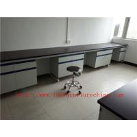 Buy cheap Resistance To  Corrosion /  Acid / Alkali  White Science Lab  Workbench Furniture  Equipments  For  Chemical Laboratory from wholesalers