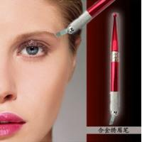 Wholesale Stalidearm Blue & Red Two Colors Aluminum Eyebrow Manual Permanent Makeup Pen from china suppliers