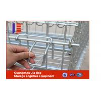 Wholesale Industrial Collapsible Stackable Steel Storage Cages For Supermarket from china suppliers