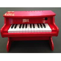 Wholesale Tablet Kids 25 Key Toy Wooden Piano Digital Pure Piano Tune AC Adaptor from china suppliers