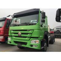 Wholesale Dropside Cargo Truck Chassis SINOTRUK HOWO ZZ1257N4341W Green Lorry Vehicle from china suppliers