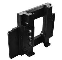 Wholesale Welding Mould Part PVC powder coated precision steel structure work for Machinery parts from china suppliers