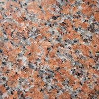 Buy cheap granite maple leaf red stone tiles slabs cenxi red hong g562 polished flamed bushhammered from wholesalers