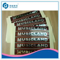 Wholesale Glossy Silver Self Adhesive Plastic Labels / Glossy Silver Label For Electrical Equipment from china suppliers