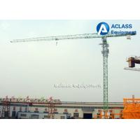 Wholesale 5 ton Topless Tower Crane 50m Jib Overhead Crane with Wire Rope Limit switch from china suppliers