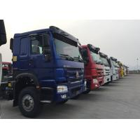 Wholesale HOWO Drawing Head Tractor Truck LHD 6x4 371HP Single Berth Cabin Air Suspension from china suppliers