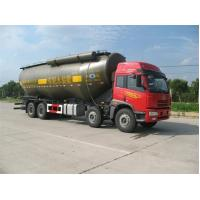 Wholesale 30 to 80CBM Cement Bulker Truck , Cement Tanker Trailer Clean Rust from china suppliers