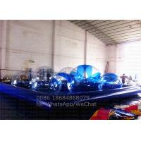 Wholesale Blue Large Outdoor Inflatable Swimming Pools Customized For Water Sports from china suppliers