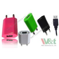 Wholesale 2 Pin Plug Portable Mini AC DC USB Charger For Bluetooth Speaker , CB / KC / GS Approved from china suppliers