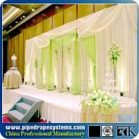 Wholesale popular unique round pipe and drapes system manufacturer from china suppliers