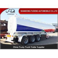 Wholesale Oil Tanker Crude Oil Tank Trailer Fuel/petroleum 45000l Steel Fuel Tanker Semi Trailer from china suppliers