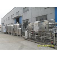 Wholesale Semi - Auto 304 Stainless Steel Water Purifying Machine For Drinking Water 20 Ton from china suppliers