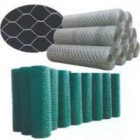 Wholesale galvanized/pvc hexagonal wire mesh factory from china suppliers