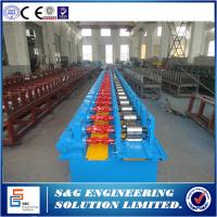 Wholesale 11KW / 380V Cold Roll Forming Machine , 45mm Shaft Shutter Rolling Machine 37 Stations from china suppliers