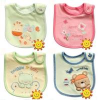 Wholesale Cute Baby Feeding Baby Bibs Newborn Baby Products , Polyester / Cotton from china suppliers