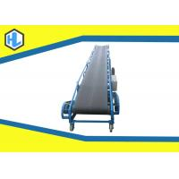 Wholesale Blue Color 5 - 20m Length Straight Belt Conveyor Machine 10 To 26° Dip Angle from china suppliers