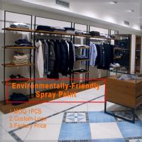 Wholesale Custom Made Wooden Clothing Store Showcase from china suppliers
