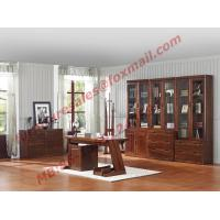 Wholesale High Quality Solid Wooden Material Bookcase Set in Study Room from china suppliers