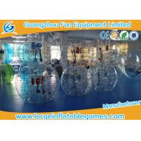 Wholesale TPU Adult Inflatable Bubble Ball Games For Soccer Bubble Club from china suppliers