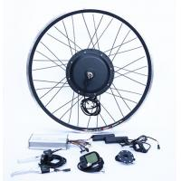 Wholesale E Bike Wheel 26 Inch1500W  Electric Bike Hub Motor , Bicycle Electric Conversion Kit from china suppliers