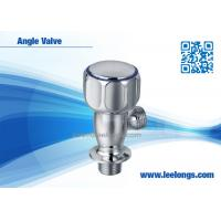 Wholesale Chromed Bathroom Angle Valve Zinc Bathroom Accessories For Hotel , Home from china suppliers
