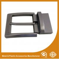 Wholesale Nickel Roller / Nickel Satin Reversible Belt Buckle Gunmetal Belt Buckle RE-016 from china suppliers
