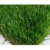 Wholesale PE/PP  Landscaping Artificial Grass Fake Turf  V shape Yarn 3/8inch 4 colors mixed from china suppliers
